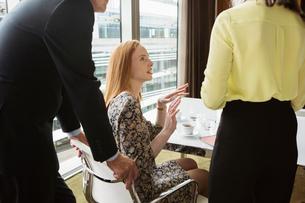 Business colleagues having meetingの写真素材 [FYI03580644]