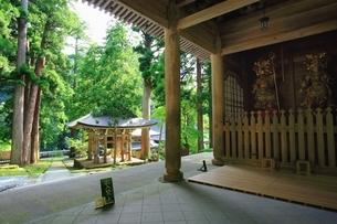 新緑の永平寺の写真素材 [FYI03582582]