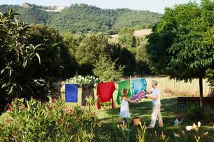 Toscana August 2010の写真素材 [FYI03583038]