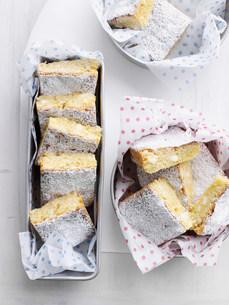 Trays of cookie barsの写真素材 [FYI03584222]