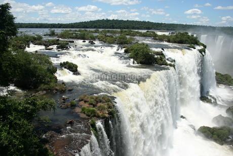 イグアスの滝の写真素材 [FYI03585075]