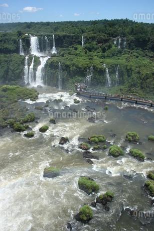 イグアスの滝の写真素材 [FYI03585376]