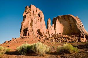 Monument Valley Navajo Tribal Park, Utah, USAの写真素材 [FYI03585782]