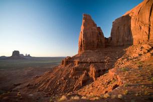 Monument Valley Navajo Tribal Park, Utah, USAの写真素材 [FYI03585784]