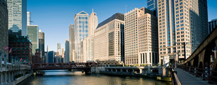 The Loop, Downtown Chicago, Illinois, USAの写真素材 [FYI03585803]