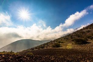 Mauna Kea, Big Island, Hawaii, USAの写真素材 [FYI03585912]