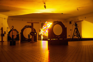 Optical research labの写真素材 [FYI03586288]