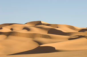 Erg Awbari, Sahara desert, Fezzan, Libyaの写真素材 [FYI03590977]