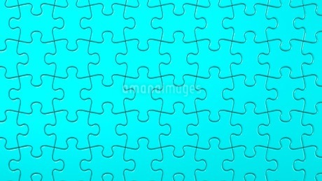 Pale Blue Jigsaw Puzzleのイラスト素材 [FYI03594782]