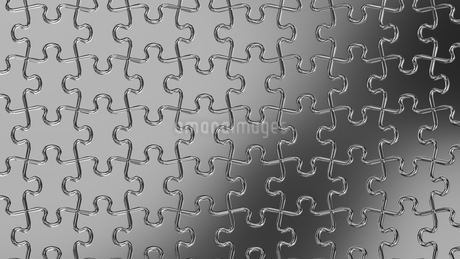 Silver Jigsaw Puzzleのイラスト素材 [FYI03595640]