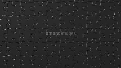 Black Jigsaw Puzzleのイラスト素材 [FYI03595706]