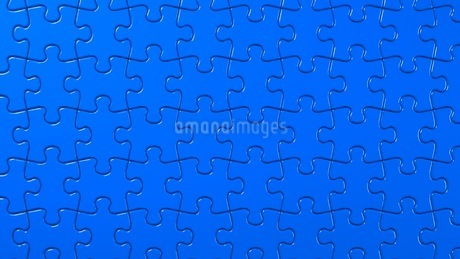 Blue Jigsaw Puzzleのイラスト素材 [FYI03595937]