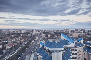 Cityscape, Odessa, Odessa Oblast, Ukraine, Europeの写真素材 [FYI03599016]