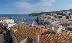 Village of Cadaques, on the Costa Brava, Spainの写真素材 [FYI03599292]