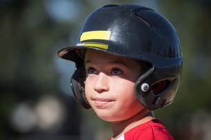 Young baseball playerの写真素材 [FYI03604678]