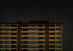 High rise building, Delfzijl, Groningen, Netherlandsの写真素材 [FYI03604930]