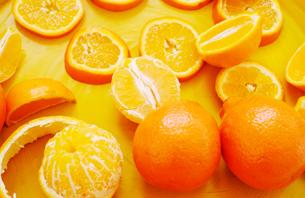 Mandarin orangesの写真素材 [FYI03607454]