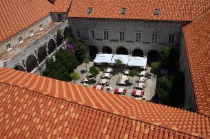 クロアチア ドブロブニク 要塞 世界遺産の写真素材 [FYI03608743]