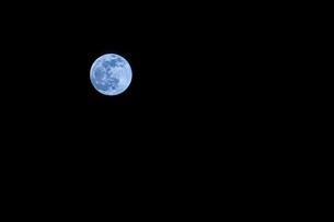 2020年初満月の写真素材 [FYI03609060]