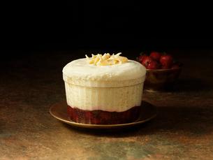 Christmas dessert mousseの写真素材 [FYI03609279]