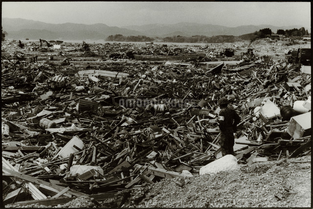 Rikuzentakata, the 2011 Tohoku Earthquake and Tsunamiの写真素材 [FYI03614061]