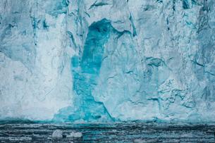 Lilliehook Glacier, Spitsbergen, Svalbard, Norwayの写真素材 [FYI03617793]