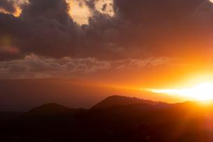 Scenic landscapes at sunset, Sedona, Arizona, USAの写真素材 [FYI03622391]