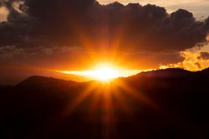 Scenic landscapes at sunset, Sedona, Arizona, USAの写真素材 [FYI03622392]