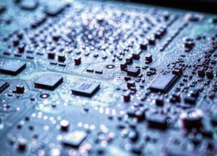 Laptop computer hardware, close upの写真素材 [FYI03625509]