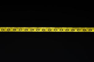 Measuring tape  detailの写真素材 [FYI03629282]