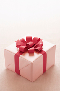 Wrapped Christmas presentの写真素材 [FYI03630079]