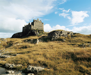 Castle on hillの写真素材 [FYI03630484]