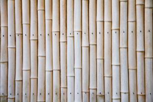 Bamboo fenceの写真素材 [FYI03633730]