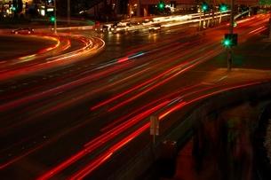 Las Vegas  USA  night shotの写真素材 [FYI03635159]