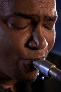 Saxophonistの写真素材 [FYI03636804]