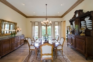 Dining room interiorの写真素材 [FYI03638002]