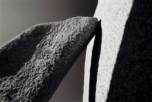 Stones close up black and whiteの写真素材 [FYI03638543]