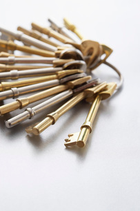 Keys on ringの写真素材 [FYI03639204]