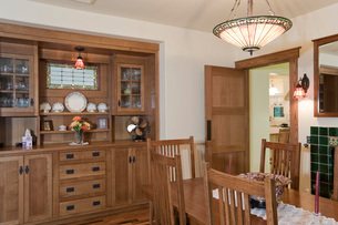 Dining room interiorの写真素材 [FYI03639533]