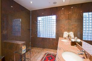 Bathroom interiorの写真素材 [FYI03639558]
