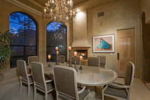 Luxurious dining roomの写真素材 [FYI03639665]