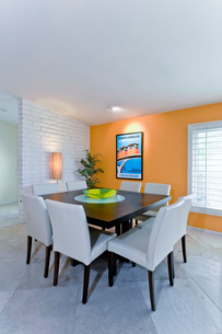 Modern dining roomの写真素材 [FYI03639733]