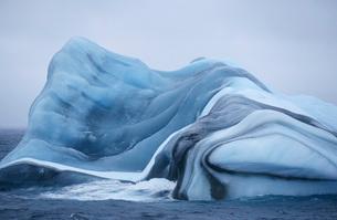 Antarctica Scotia Sea iceberg in waterの写真素材 [FYI03640059]