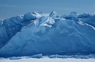 Antarctica Weddell Sea Riiser Larsen Ice Shelfの写真素材 [FYI03640073]