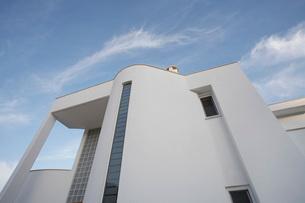 Cyprus Facade of contemporary houseの写真素材 [FYI03640142]