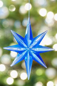 Christmas decoration close-upの写真素材 [FYI03640229]