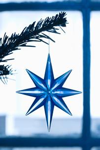 Christmas decoration close-upの写真素材 [FYI03640247]