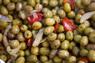 Close-up of saladの写真素材 [FYI03640424]