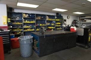 Workshop interiorの写真素材 [FYI03640660]