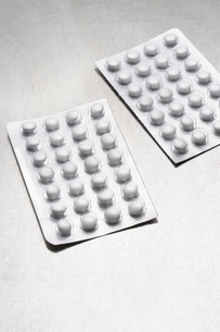 Pills in packagingの写真素材 [FYI03641093]
